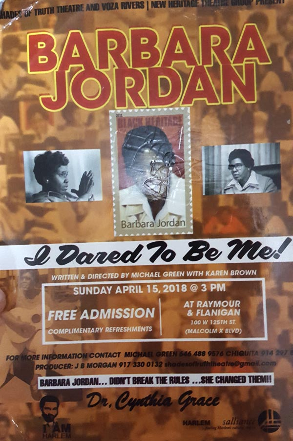 Barbara Jordan: I Dared to Be Me!